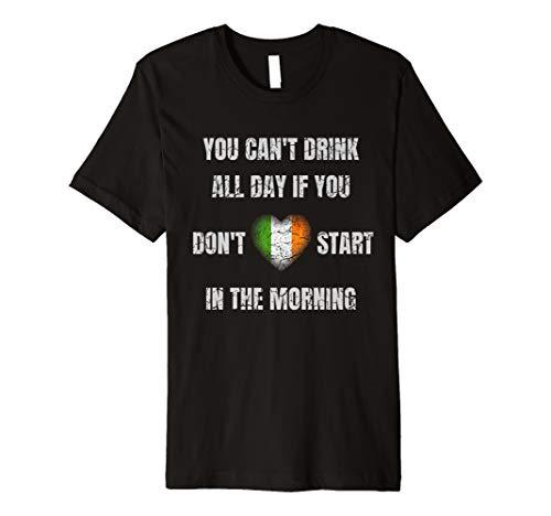 t I St Patricks Day Irisch Motto Party ()