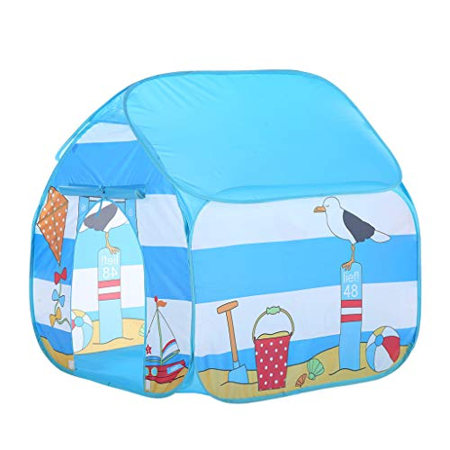 Muium  Tienda del Juego Tienda de Campaña para Niños Castillo Juego en casa para Chicos Plegable autoarmable Casa de Juguetes al Aire Libre para niños, niñas, para la Playa