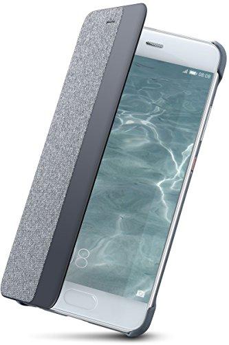 Huawei View Flip Custodia per Huawei P10 Plus, Grigio Chiaro