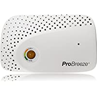Pro Breeze® Cordless Rechargeable Mini Dehumidifier for Absorbing Moisture in Small Spaces e.g. Wardrobes, Cabinets, Drawers, Boxes. Wireless with NO BATTERIES needed