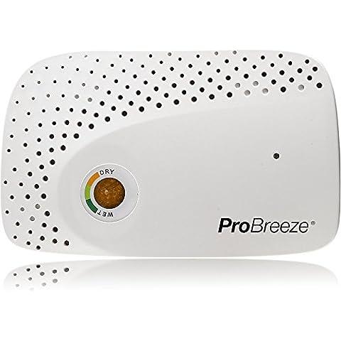 The Body Source Pro Breeze - Deshumidificador mini para absorber la humedad en espacios reducidos como armarios, cajones, guardarropas o cajas. Sin cables ni baterías.