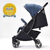 Allis Lightweight Plume Stroller Baby Buggy - Denim
