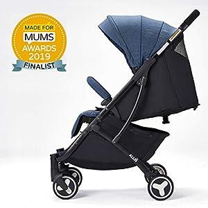 Allis Lightweight Plume Stroller Baby Buggy - Denim   5