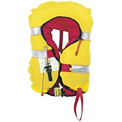 PLASTIMO 63419 Gilet Gonflable Mixte Adulte, Marine, Normal