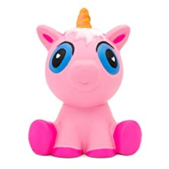 Idea Regalo - MMTX 1 PCS Super Soft Cut Animal Squishies Unicorn Kawaii Cream profumato lento aumento Squishy giocattoli antistress