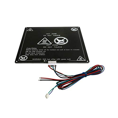 Orderly 3d Printer Heat Bed Pcb Round Mk3 Heat Bed 220 X 3mm Aluminum Dual Power 12v Hot Bed Computer & Office Office Electronics