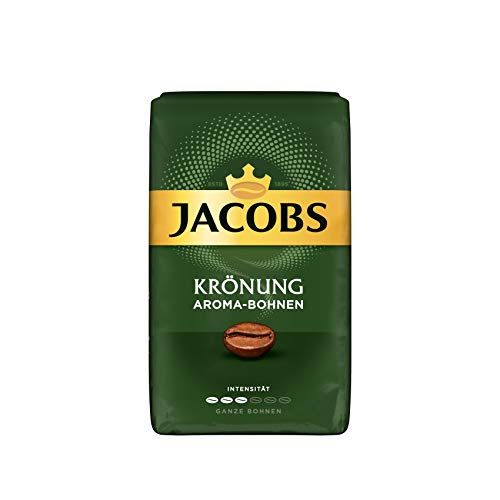 Jacobs Kaffeebohnen Krönung Aroma-Bohnen, 12er Pack, 12 x 500 g Bohnenkaffee