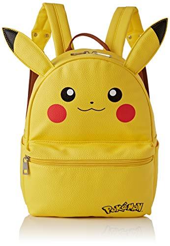 DIFUZED Sac à DOS Jaune Motif Pikachu Kinder-Rucksack, 41 cm, Gelb (Jaune)
