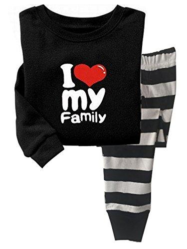 Qtake Fashion - Pijama - para Niña Pajamas 1-7 Años