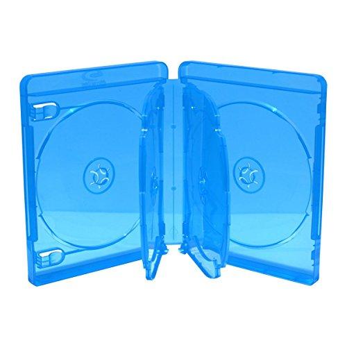 5 BluRay 6er BD Hüllen / 22mm / geeignet für 6 Datenträger