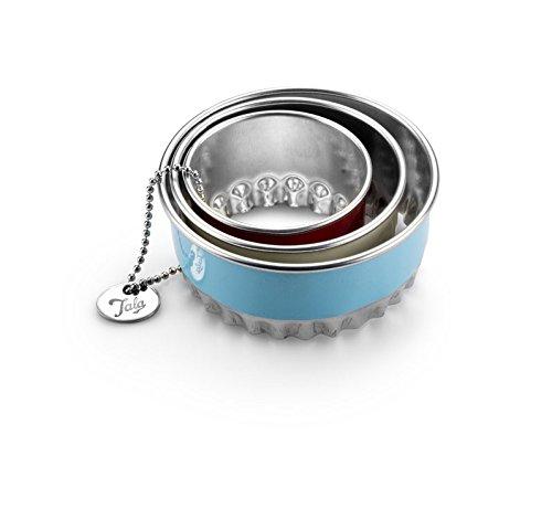 Tala Ausstecher mit geriffelter Kante, 3-teiliges Set Fluted Mini-tarte