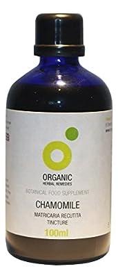 Organic Herbal Remedies 100 ml Chamomile Tincture by Organic Herbal Remedies