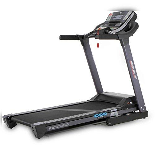 41TEcZowt6L. SS500  - Bh Fitness Unisex's RC02W DUAL Treadmill, Black, Large