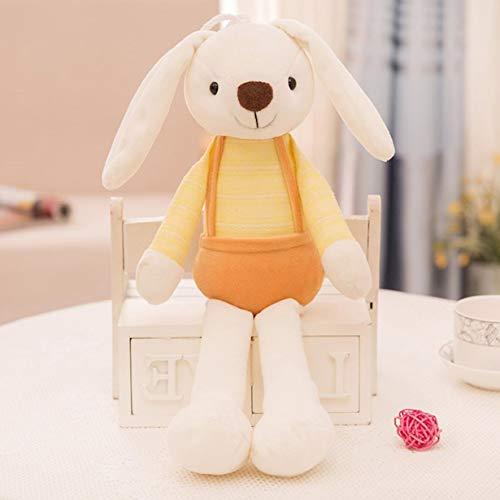Kaninchen Puppe, Kinder Kinder Cartoon Sugar Candy Kaninchen Plüsch Puppe Niedlichen Kaninchen Long Ear Schlafzimmer Weich Gefüllte Puppe Spielzeug Zucker Grab Puppe