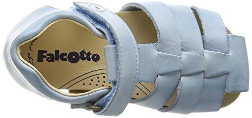Naturino Falcotto 1405, Sandales fermées mixte enfant Turquoise (VIT.CERATO SPAZZ. SKY)