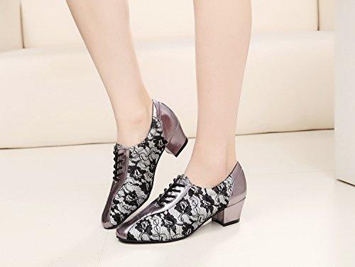 Minitoo - Ballroom donna Grey-4cm Heel