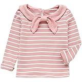 Outtop(TM) Men's Oft Long Sleeve Striped Soft Tops Shirt Clothes - B07FJPZCTZ
