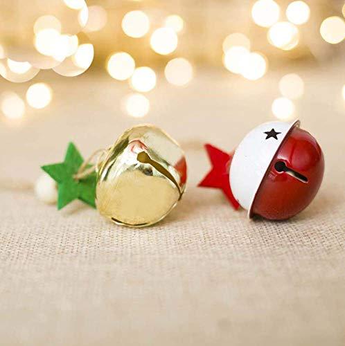 bleu et argent Noël Ornements 8 x 35mm Jingle Bells mauve Décorations de Noël, sapins Fêtes, occasions spéciales