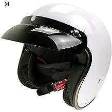 Casco de Moto Retro Harley casco casco de seguridad para Hombres y Mujeres