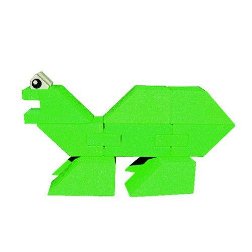 ANKER- Puzzles 3DPuzzles 3DANKERCaja de construcción Dinosaurio (pequeño) Dinosa, Multicolor (23)