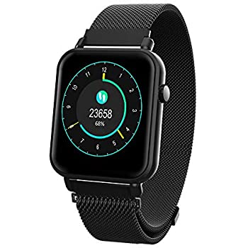iCoverCase Reloj Inteligente Bluetooth Smartwatch Hombres Mujeres IP67 Impermeable Outdoor Deportes Fitness Tracker con Pulsómetro, Monitor de ...