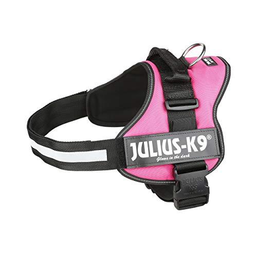 Julius-K9, 162DPN-1, K9-Powergeschirr, Größe: 1, dunkelpink