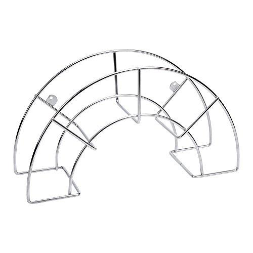 Sauvic 03303-Wandschlauchhalter, aus 304 Edelstahl, groß