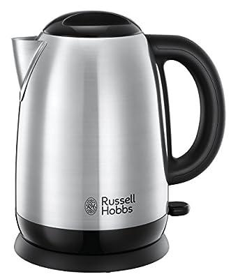 Russell Hobbs 23912-70 Bouilloire Adventure 1,7 L, 2400 W, 1.7 Liters, Acier Brossé
