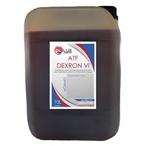 DLLUB - HUILE BOITE AUTOMATIQUE ATF Dexron VI - 10 litres
