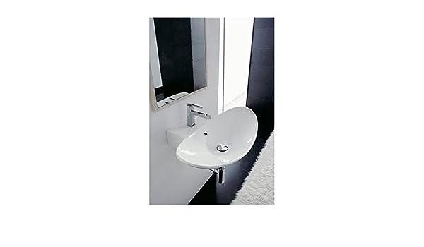 Vasche Da Bagno Zefiro : Zefiro vasca lavabo da appoggio o a sospensione 90rg: amazon.it: fai