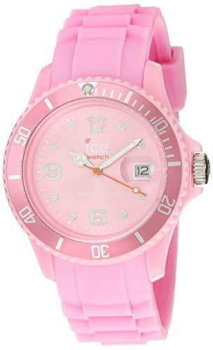 Ice-Watch - ICE forever Pink - Montre rose pour femme avec bracelet en  silicone d81a26110376
