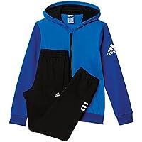 adidas Yb TS Hojo Ft C - Chándal para niños de 11-12 años, Color Azul