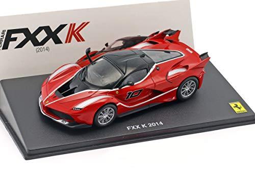 Ferrari FXX K #10 Baujahr 2014 rot / schwarz 1:43 Altaya