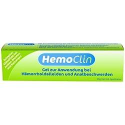 HemoClin Hämorrhoiden Gel, 30 g, Behandlung von Hämorrhoidalleiden und Analbeschwerden, 1er Pack (1 x 30 g)