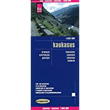 Reise Know-How Landkarte Kaukasus (1:650.000) : Armenien, Aserbaidschan, Georgien: world mapping project