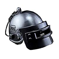 FULAISI PUBG Helmet Keychain Game Cosplay Clothing Accessories Keyring Charm Alloy Key Chain Pendant Merchandise