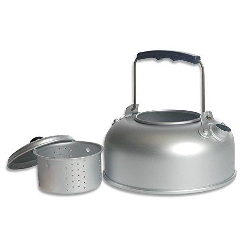 bkl1 ® Théière en aluminium 0,94 l Passoire à thé Outdoor Camping Feu de Camp 1235