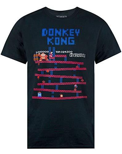 Officisl Donkey Kong Game Screen T-shirt for Men