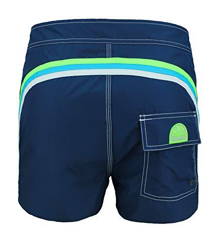 2fecc0d7b4 SUNDEK BS/RB-Low Rise Shorts de Bain Homme - Navy, 34