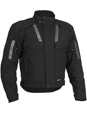 Newfacelook Hombres de protección del motorista de la moto Motorcyle chaqueta impermeable