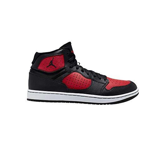 Nike Jordan Access, Zapatillas de Atletismo para Hombre, Multicolor (Black/Gym Red/White 006),...