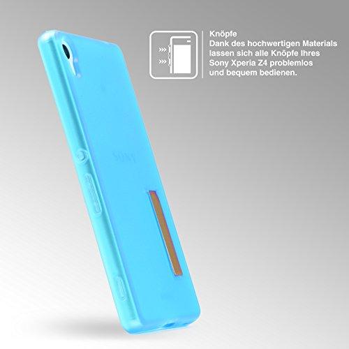Urcover® Apple iPhone 7 Plus Schutz-Hülle – Ultra Slim - [ Stand-Funktion ] Soft Back-Case mit Ständer   flexible federleichte TPU Silikonhülle Handy Schutz-Cover Smartphone Zubehör Schale Farbe: Tran Blau / Transparent