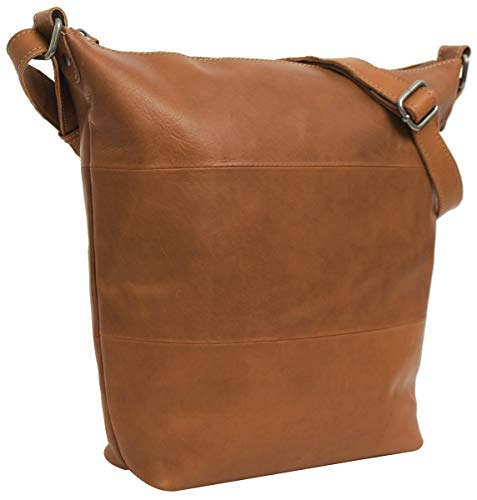 Handtasche Leder Gusti Studio Zahara Umhängetasche Shopper Ledertasche Damen Braun