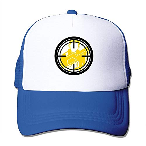 Mesh Baseball Caps Collimation Mirror Art Unisex Adjustable Sports Trucker Cap (Ball Hat Mirror)