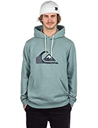 Quiksilver Sweatshirts and Hoodies Quiksilver Big Logo Hood Stormy Sea Heather XXL