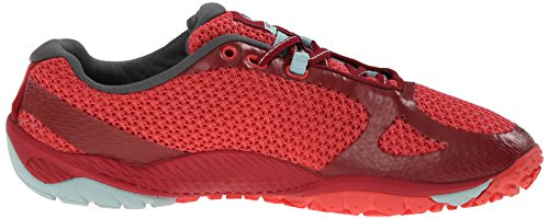 Merrell Pace Glove 3 Damen Traillaufschuhe Rot (RED/LIGHT BLUE)
