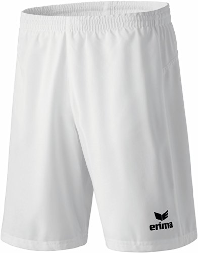 erima Erwachsene Shorts Performance, Weiß, XXXL