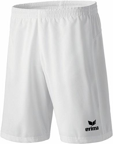 Erima–Pantaloncini Performance adulti bianco