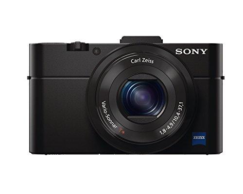 Sony DSC-RX100 II Cyber-shot digitale Kompaktkamera (20 Megapixel, 3,6-fach opt. Zoom, 7,6 cm (3 Zoll) Display, Full HD, bildstabilisiert, NFC, WiFi) schwarz