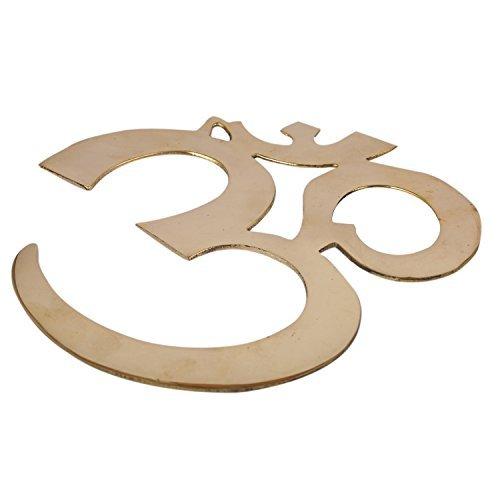 aatm Dekoratives und Attraktives OM Form Design Messing Wand Zum aufhängen ||Best Verwendung für Home Dekoration/in/Office ||